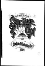 Title Page, Salt Lake City 1898 Vol 1
